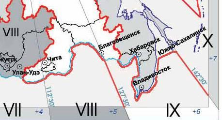 Часовые пояса зоны Беспалов В.